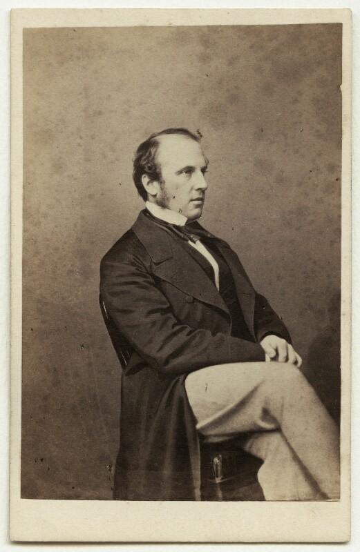 Charles John Canning, Earl Canning, by John Jabez Edwin Mayall, 1860-1866 (1855) - NPG x5617 - © National Portrait Gallery, London