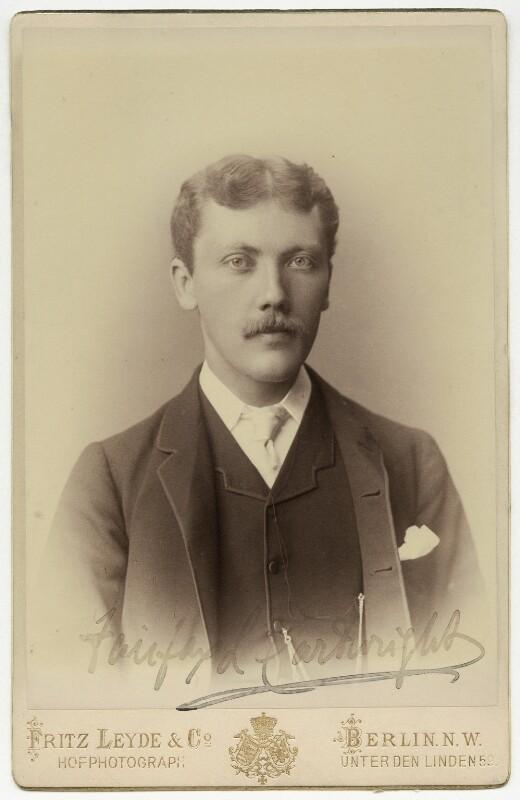 Sir Fairfax Leighton Cartwright, by Fritz Leyde & Co, 1880s - NPG x5695 - © National Portrait Gallery, London