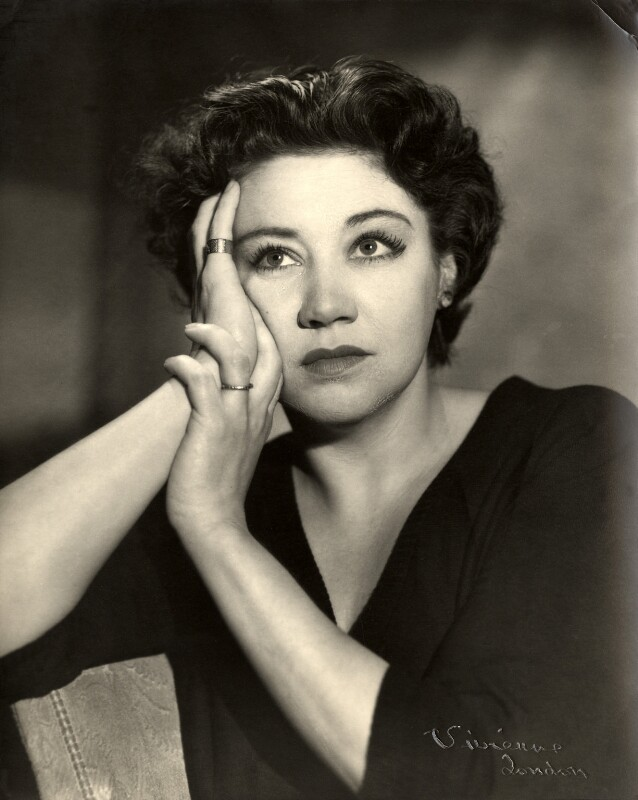 Megs Jenkins, by Vivienne, 1950s - NPG x87949 - © reserved; collection National Portrait Gallery, London