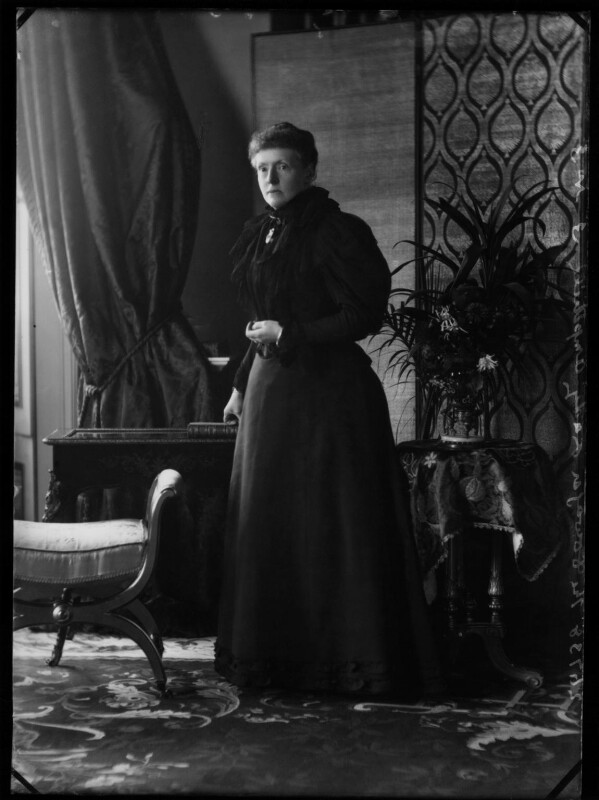 Emily Theresa (née Villiers), Lady Ampthill, by Alexander Bassano, 1896 - NPG x571 - © National Portrait Gallery, London