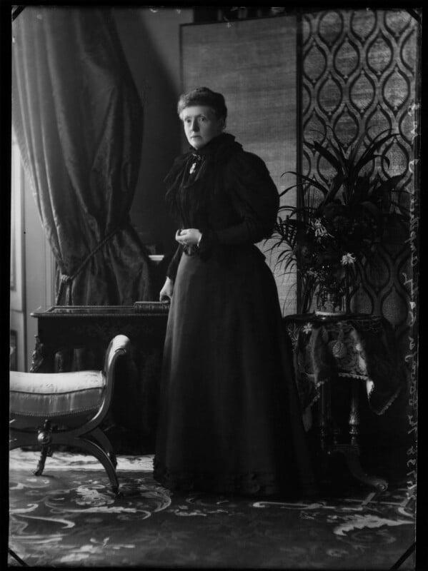 Emily Theresa (née Villiers), Lady Ampthill, by Alexander Bassano, 1896 - NPG x571 - © National Portrait Gallery, London