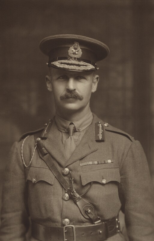 (Frederic) Rudolph Lambart, 10th Earl of Cavan, by S.A. Chandler, circa 1917 - NPG x5715 - © National Portrait Gallery, London