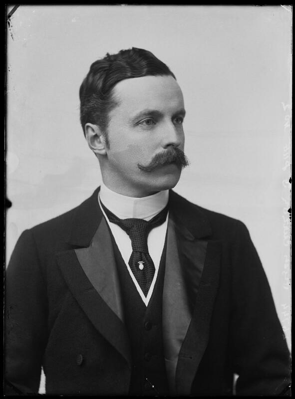 Richard George Penn Curzon, 4th Earl Howe, by Alexander Bassano, 1896 - NPG x574 - © National Portrait Gallery, London