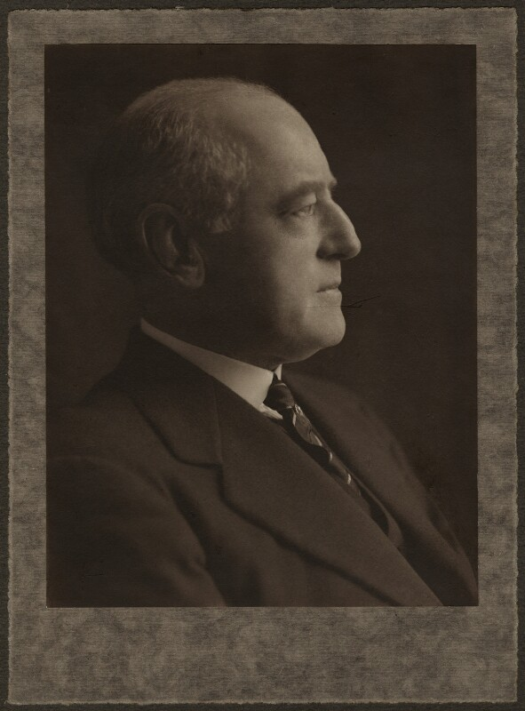 Sir Alan Garrett Anderson, by (Mary) Olive Edis (Mrs Galsworthy), 1920-1930 - NPG x59 - © National Portrait Gallery, London
