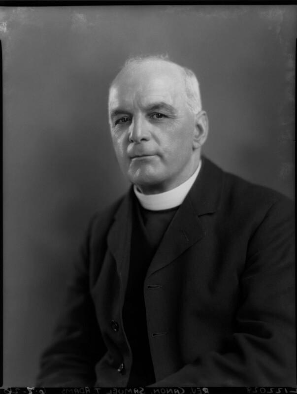 Samuel Trerice Adams, by Lafayette, 6 July 1926 - NPG x59093 - © National Portrait Gallery, London