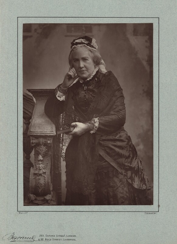 Catherine Gladstone (née Glynne), by Herbert Rose Barraud, published by  Richard Bentley & Son, published 1888 - NPG x5974 - © National Portrait Gallery, London