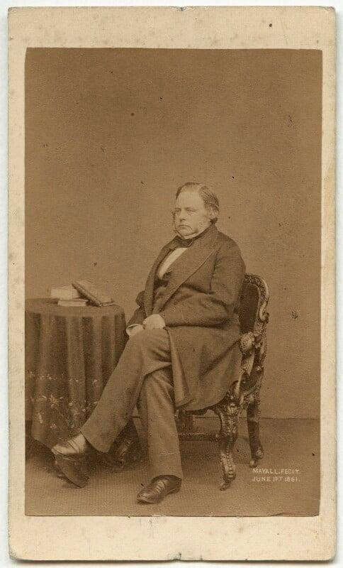 John Bright, by John Jabez Edwin Mayall, 1861 - NPG x6056 - © National Portrait Gallery, London