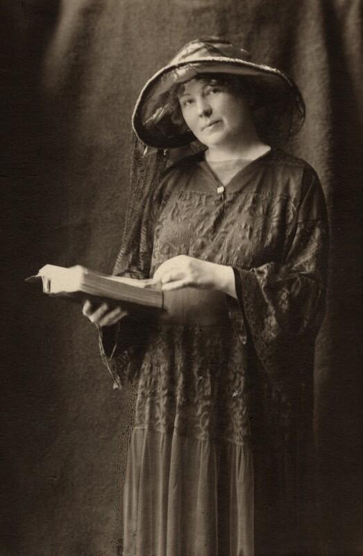 Dame Christabel Pankhurst, by (Mary) Olive Edis (Mrs Galsworthy), 1925-1935 - NPG x6196 - © National Portrait Gallery, London