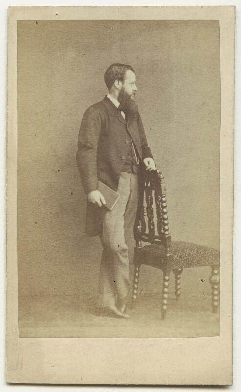 Wilkie Collins, by (George) Herbert Watkins, early 1860s - NPG x6324 - © National Portrait Gallery, London