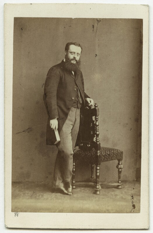 Wilkie Collins, by (George) Herbert Watkins, early 1860s - NPG x6325 - © National Portrait Gallery, London