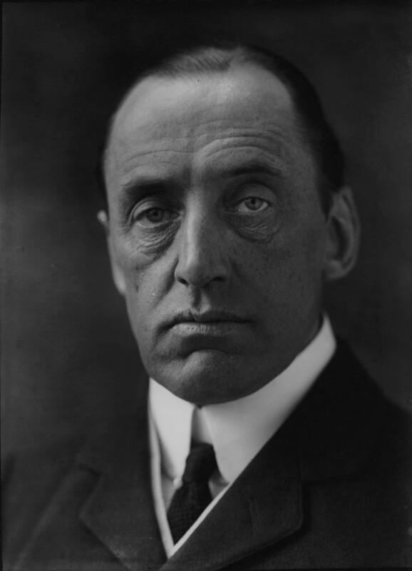 Edward Henry Carson, 1st Baron Carson, by George Charles Beresford, 1923 - NPG x6466 - © National Portrait Gallery, London