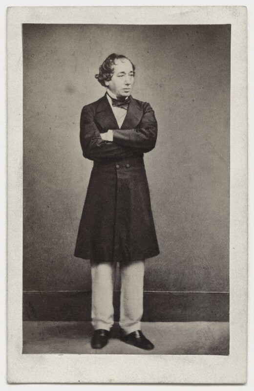 Benjamin Disraeli, Earl of Beaconsfield, by Henry Lenthall, after  William Edward Kilburn, mid 1860s (early 1860s) - NPG x650 - © National Portrait Gallery, London