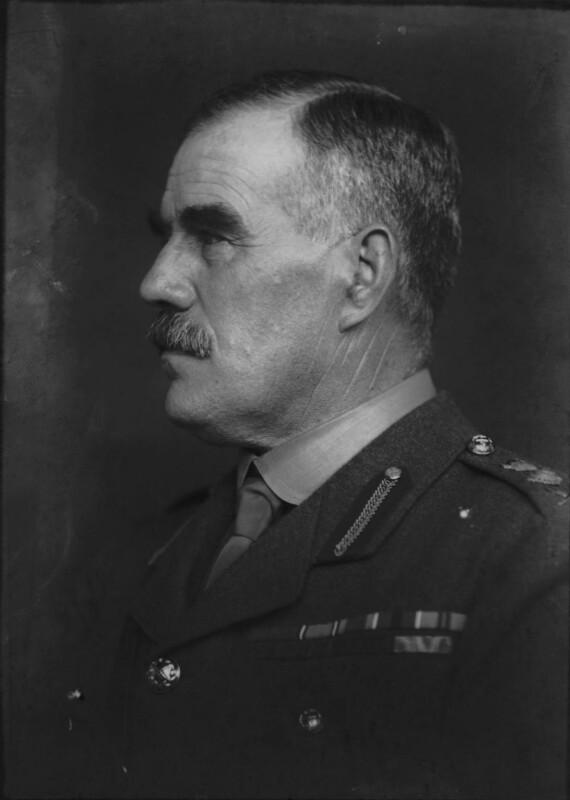 Sir William Robert Robertson, 1st Bt, by George Charles Beresford, 1916 - NPG x6571 - © National Portrait Gallery, London