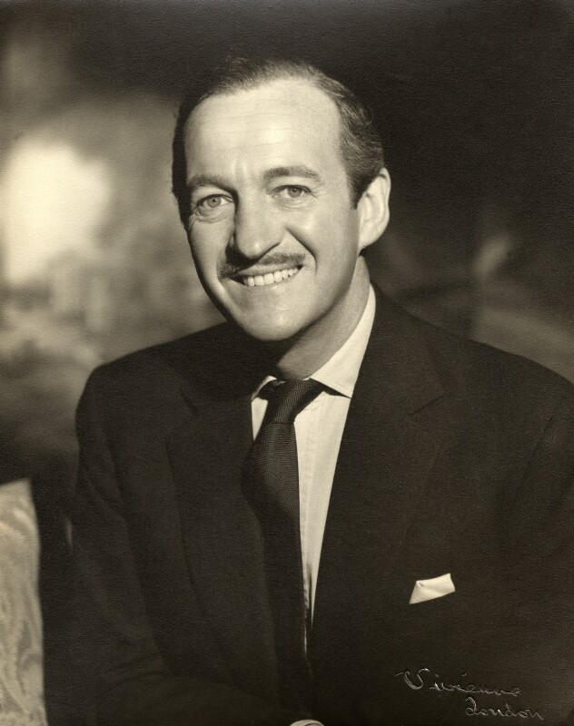David Niven, by Vivienne, 1950s - NPG x87999 - © reserved; collection National Portrait Gallery, London