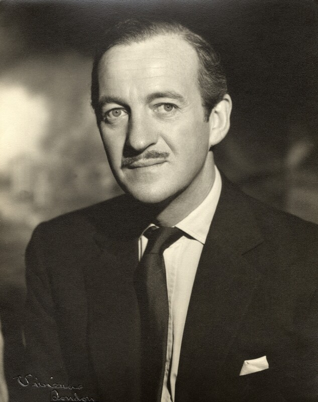 David Niven, by Vivienne, 1950s - NPG x88001 - © reserved; collection National Portrait Gallery, London