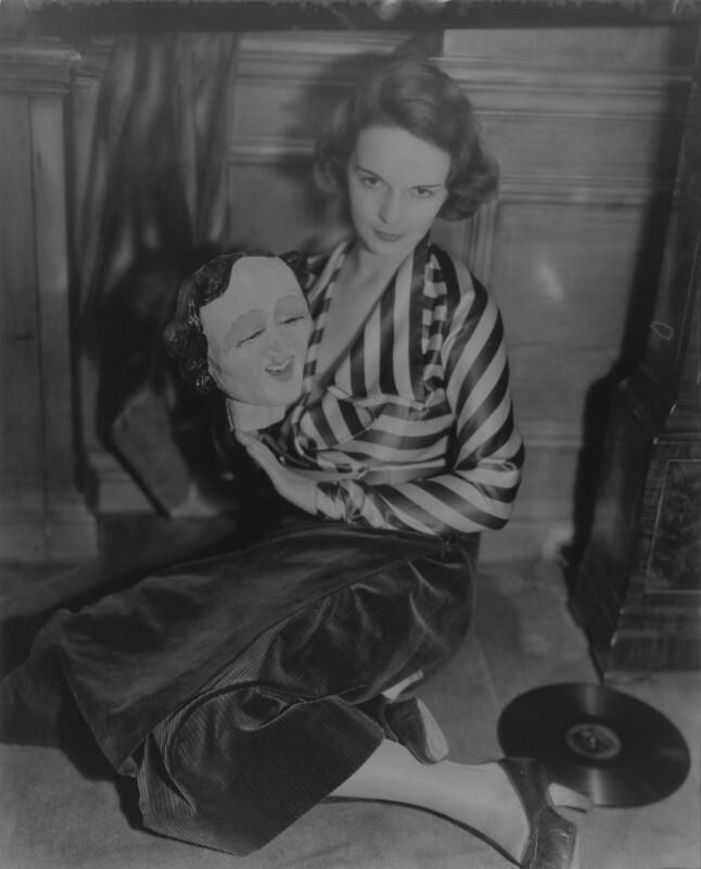 Barbara Bentley (née Hastings), by Francis Goodman, 1932 - NPG x68804 - © National Portrait Gallery, London