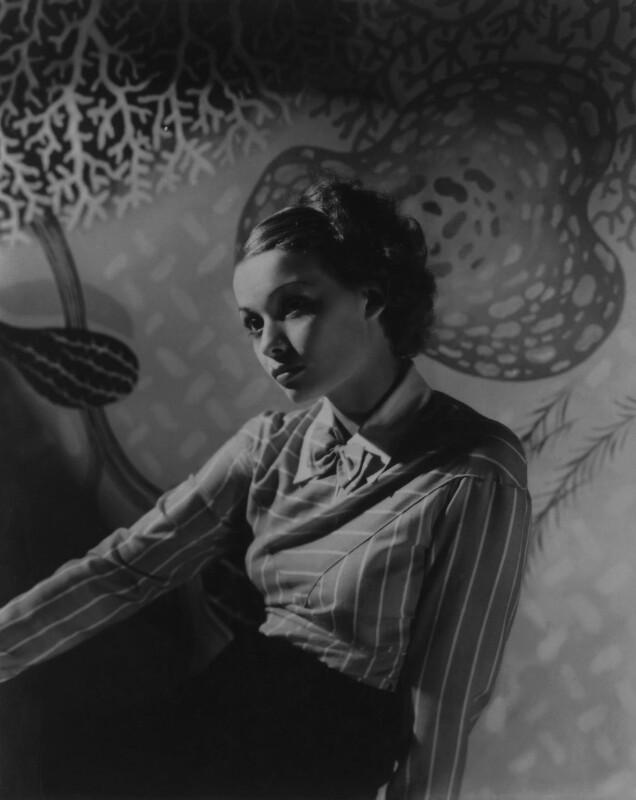 Florence Lambert (née Kaye, later Hole), by Francis Goodman, 1934 - NPG x68806 - © National Portrait Gallery, London