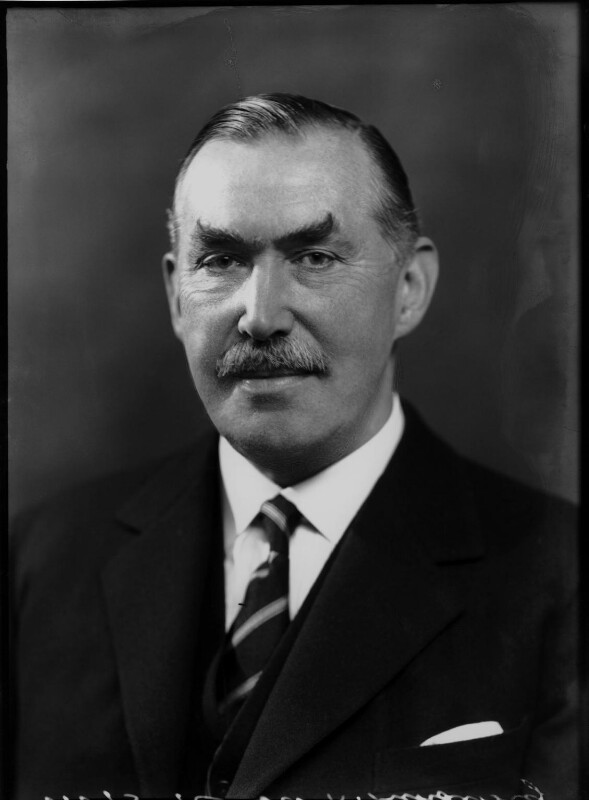 Robert Molesworth Kindersley, 1st Baron Kindersley, by Bassano Ltd, 14 October 1936 - NPG x68860 - © National Portrait Gallery, London