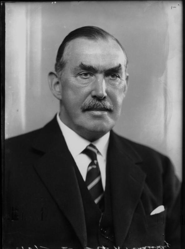 Robert Molesworth Kindersley, 1st Baron Kindersley, by Bassano Ltd, 14 October 1936 - NPG x68861 - © National Portrait Gallery, London