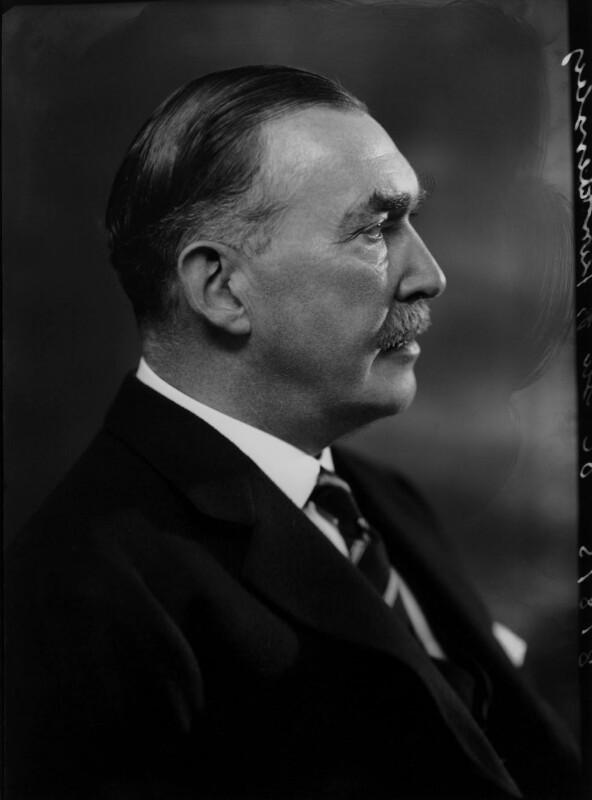 Robert Molesworth Kindersley, 1st Baron Kindersley, by Bassano Ltd, 14 October 1936 - NPG x68863 - © National Portrait Gallery, London