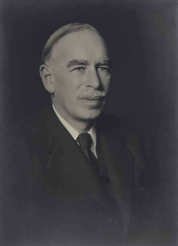 npg x68882 john maynard keynes baron keynes portrait national portrait gallery. Black Bedroom Furniture Sets. Home Design Ideas