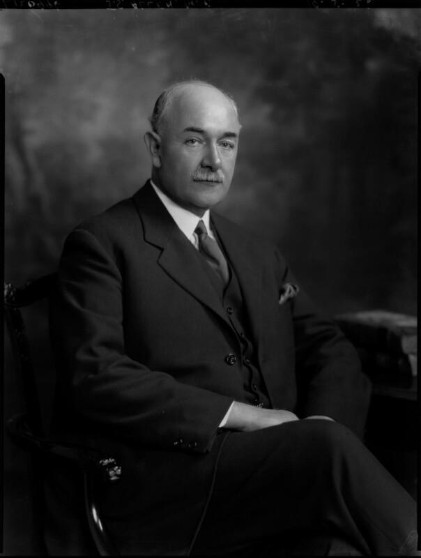 Sir John Sandeman Allen, by Lafayette (Lafayette Ltd), 19 May 1926 - NPG x69015 - © National Portrait Gallery, London