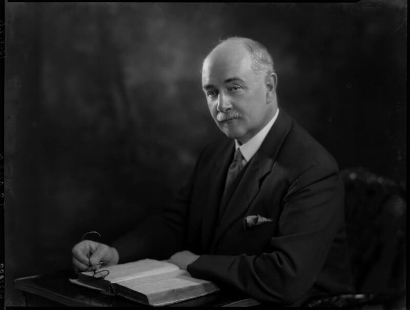 Sir John Sandeman Allen, by Lafayette, 19 May 1926 - NPG x69017 - © National Portrait Gallery, London