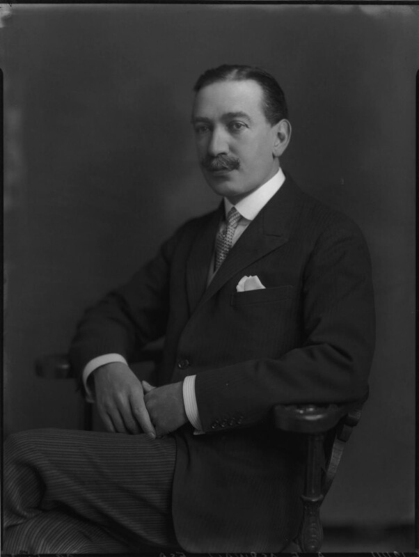 Sir Algernon Edward Aspinall, by Lafayette (Lafayette Ltd), 29 May 1926 - NPG x69027 - © National Portrait Gallery, London