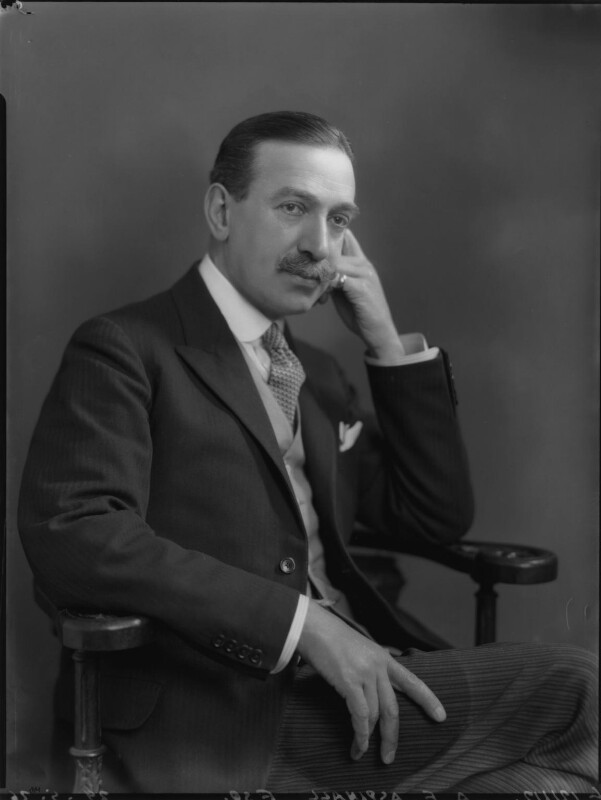 Sir Algernon Edward Aspinall, by Lafayette (Lafayette Ltd), 29 May 1926 - NPG x69028 - © National Portrait Gallery, London