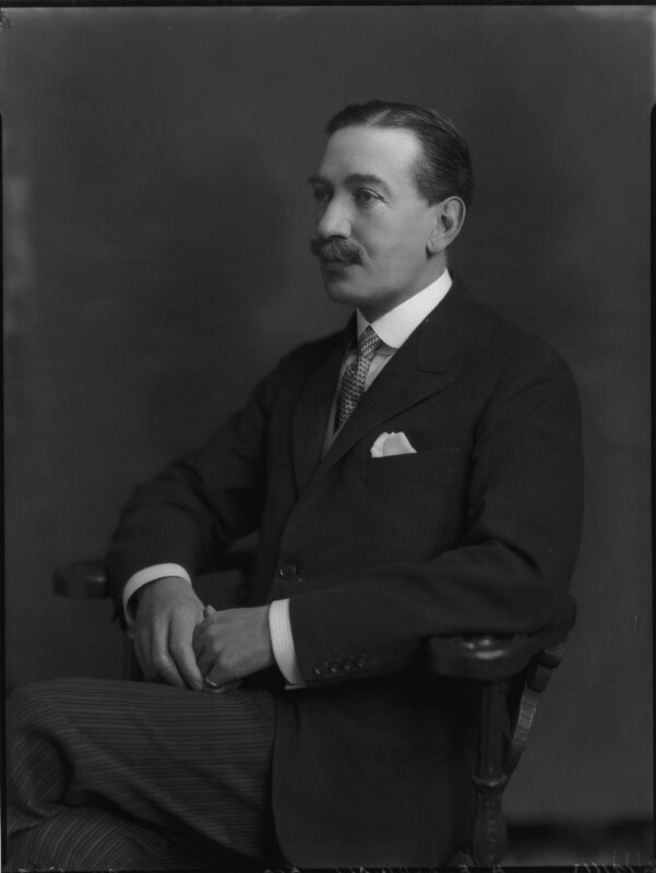 Sir Algernon Edward Aspinall, by Lafayette (Lafayette Ltd), 29 May 1926 - NPG x69029 - © National Portrait Gallery, London