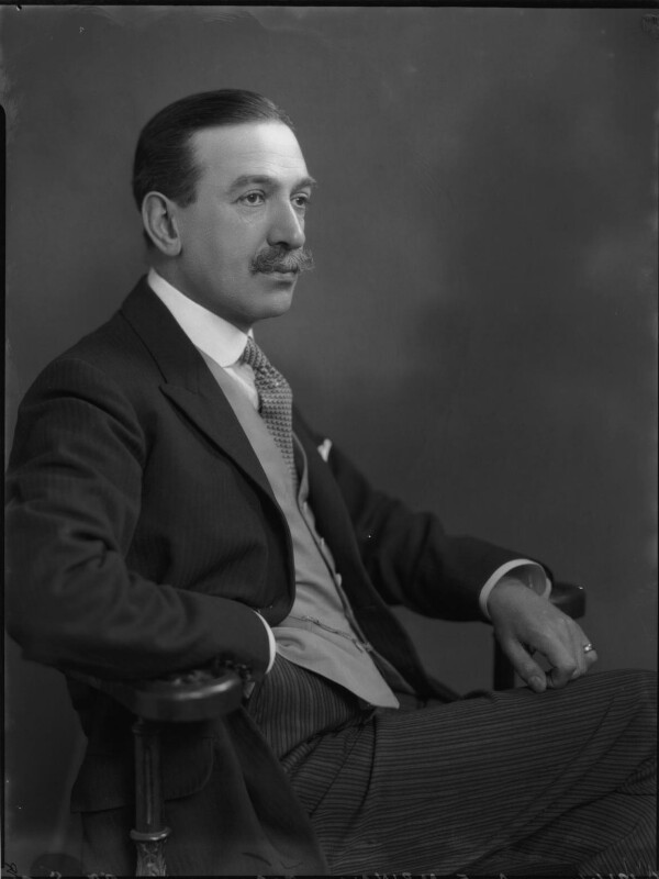 Sir Algernon Edward Aspinall, by Lafayette, 29 May 1926 - NPG x69030 - © National Portrait Gallery, London