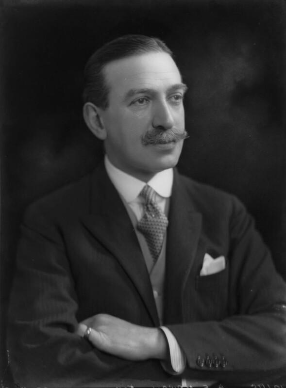 Sir Algernon Edward Aspinall, by Lafayette (Lafayette Ltd), 29 May 1926 - NPG x69031 - © National Portrait Gallery, London