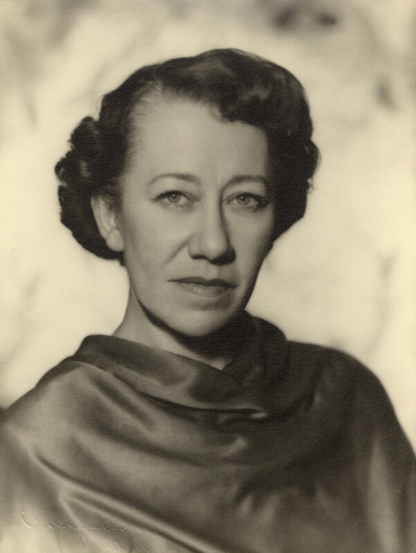 Flora Robson, by Vivienne, 1945-1956 - NPG x88020 - © reserved; collection National Portrait Gallery, London