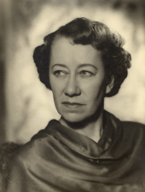 Flora Robson, by Vivienne, 1945-1956 - NPG x88021 - © reserved; collection National Portrait Gallery, London
