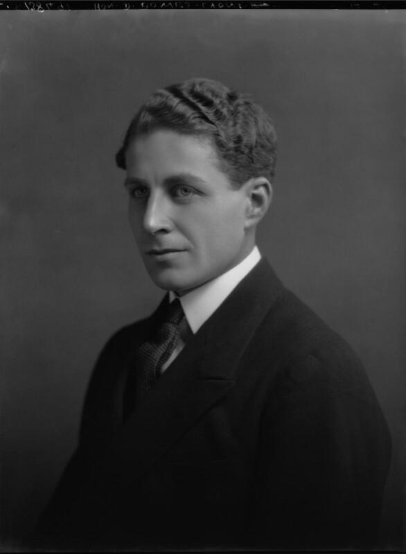 Sir David Bowes-Lyon, by Lafayette, 5 December 1928 - NPG x69246 - © National Portrait Gallery, London