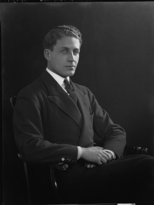 Sir David Bowes-Lyon, by Lafayette, 5 December 1928 - NPG x69248 - © National Portrait Gallery, London