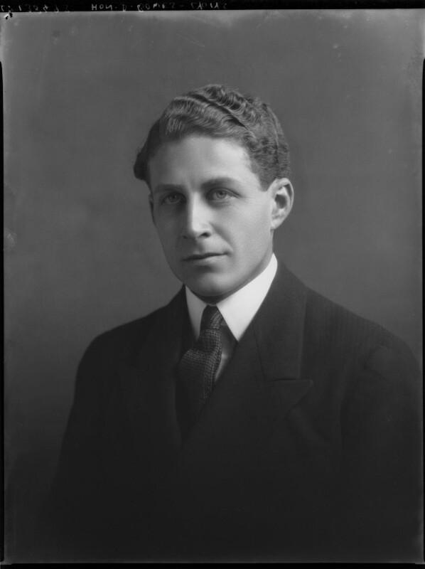 Sir David Bowes-Lyon, by Lafayette (Lafayette Ltd), 5 December 1928 - NPG x69249 - © National Portrait Gallery, London