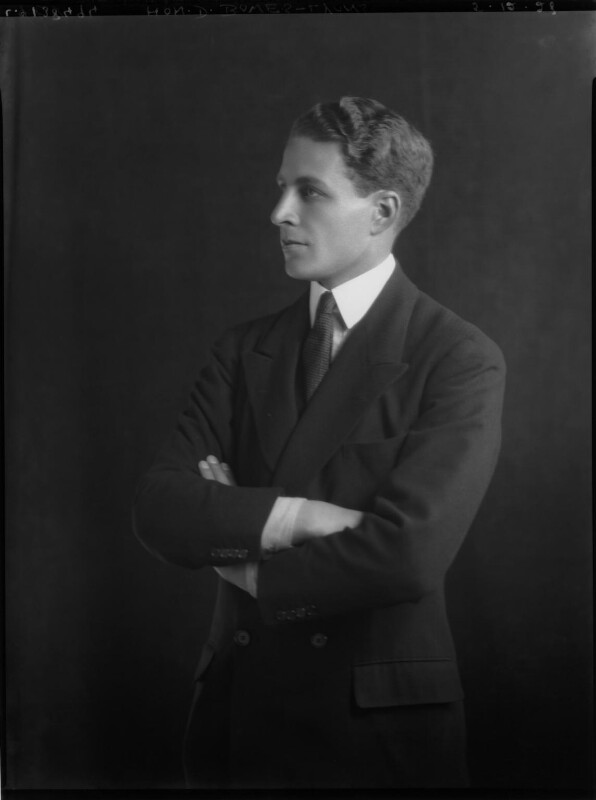 Sir David Bowes-Lyon, by Lafayette, 5 December 1928 - NPG x69250 - © National Portrait Gallery, London