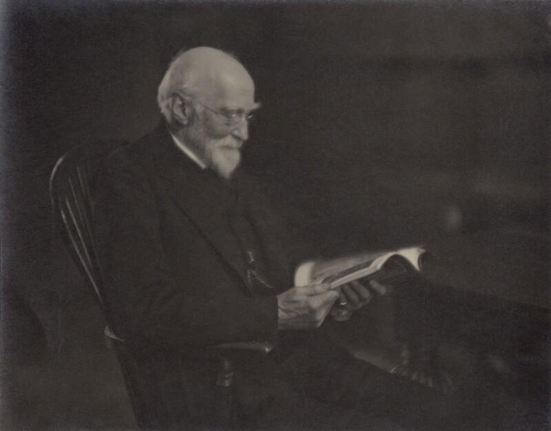 Sir (Thomas) Hugh Bell, 2nd Bt by Unknown photographer, bromide print, 1910s NPG x693
