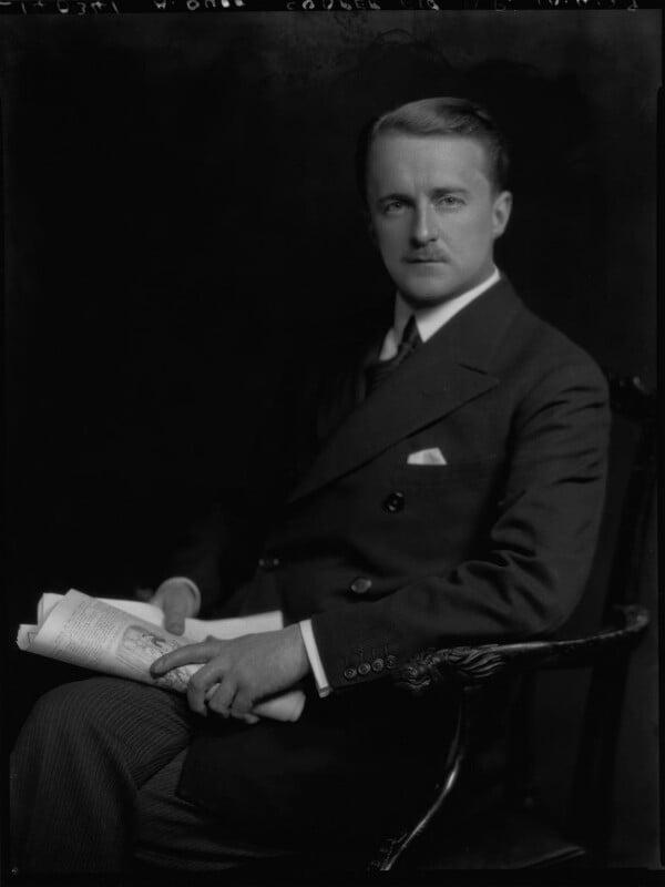 (Alfred) Duff Cooper, 1st Viscount Norwich, by Lafayette (Lafayette Ltd), 10 April 1929 - NPG x69429 - © National Portrait Gallery, London