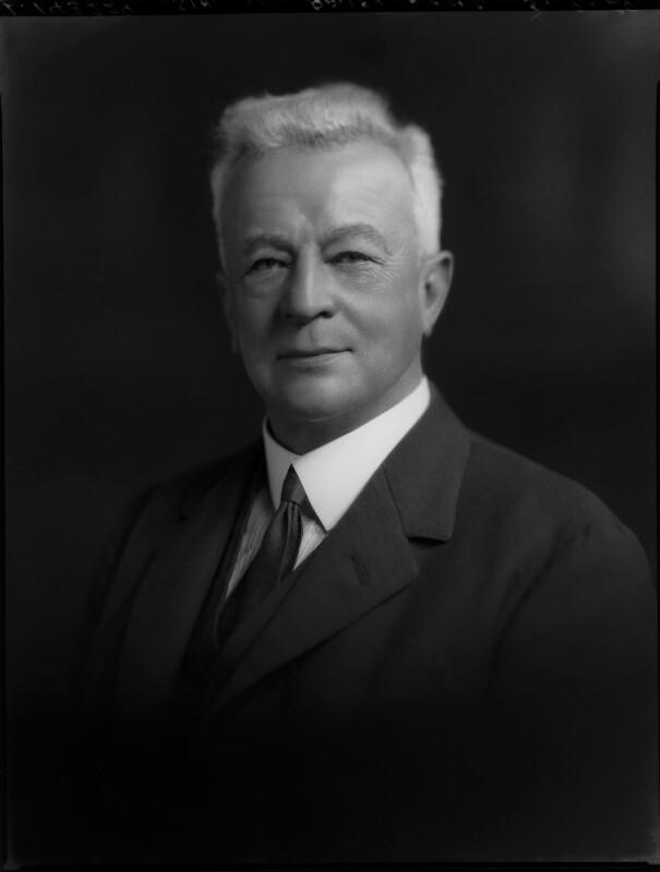 Sir Abe Bailey, 1st Bt, by Lafayette (Lafayette Ltd), 5 September 1929 - NPG x69758 - © National Portrait Gallery, London