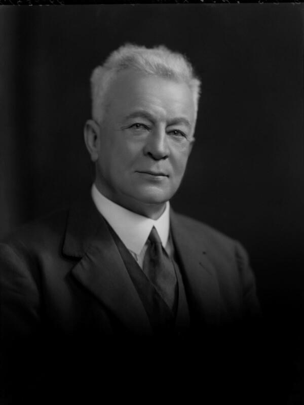 Sir Abe Bailey, 1st Bt, by Lafayette (Lafayette Ltd), 5 September 1929 - NPG x69759 - © National Portrait Gallery, London