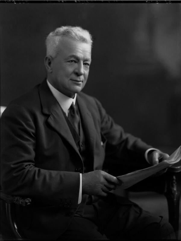Sir Abe Bailey, 1st Bt, by Lafayette (Lafayette Ltd), 5 September 1929 - NPG x69760 - © National Portrait Gallery, London