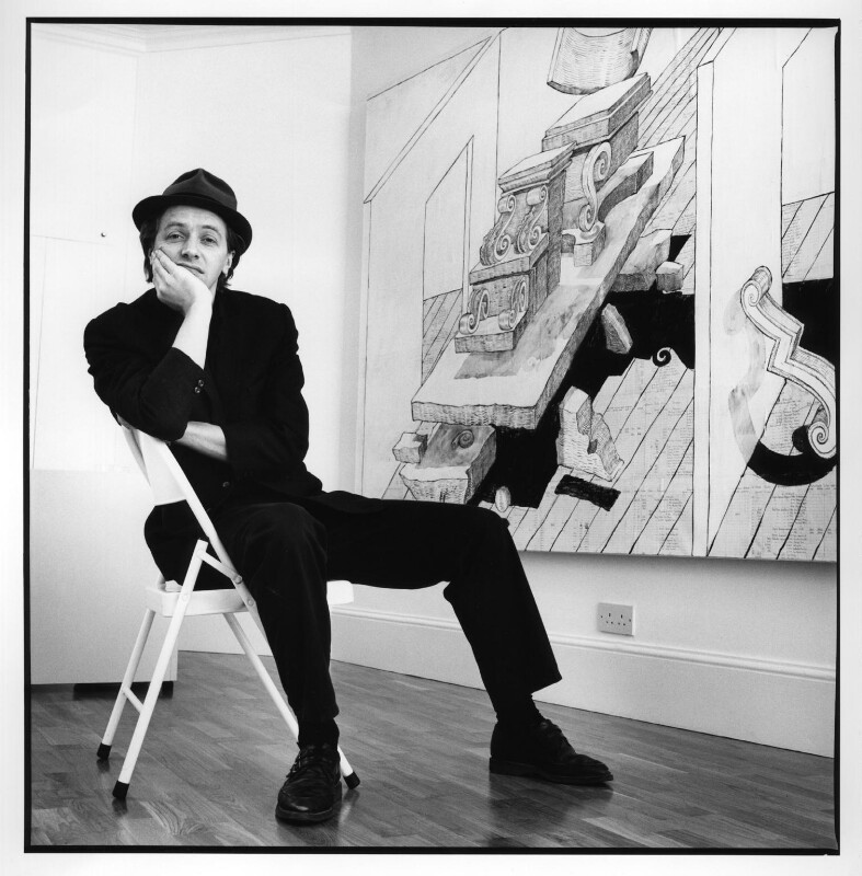 Edward Allington, by Jillian Edelstein, 1987 - NPG x31014 - © Jillian Edelstein / Camera Press