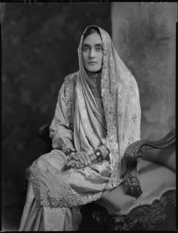 Lady Ali Khan Zulfikar, by Lafayette (Lafayette Ltd), 28 September 1929 - NPG x69803 - © National Portrait Gallery, London
