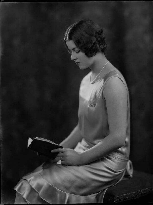 Doreen Maud Agnew (née Jessel), by Lafayette, 8 March 1929 - NPG x69999 - © National Portrait Gallery, London
