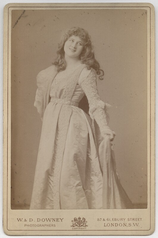 Mary Anderson (Mrs de Navarro) as Juliet in 'Romeo & Juliet', by W. & D. Downey, 1884 - NPG x70 - © National Portrait Gallery, London