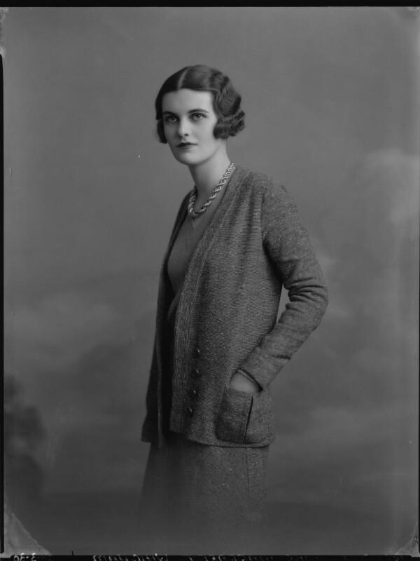 Margaret (Whigham), Duchess of Argyll, by Lafayette (Lafayette Ltd), 28 March 1930 - NPG x70252 - © National Portrait Gallery, London