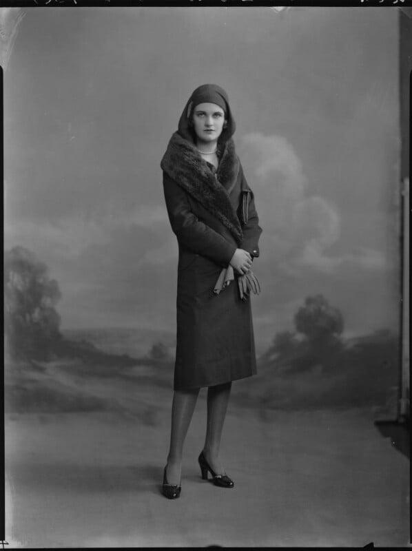 Margaret (Whigham), Duchess of Argyll, by Lafayette (Lafayette Ltd), 28 March 1930 - NPG x70254 - © National Portrait Gallery, London