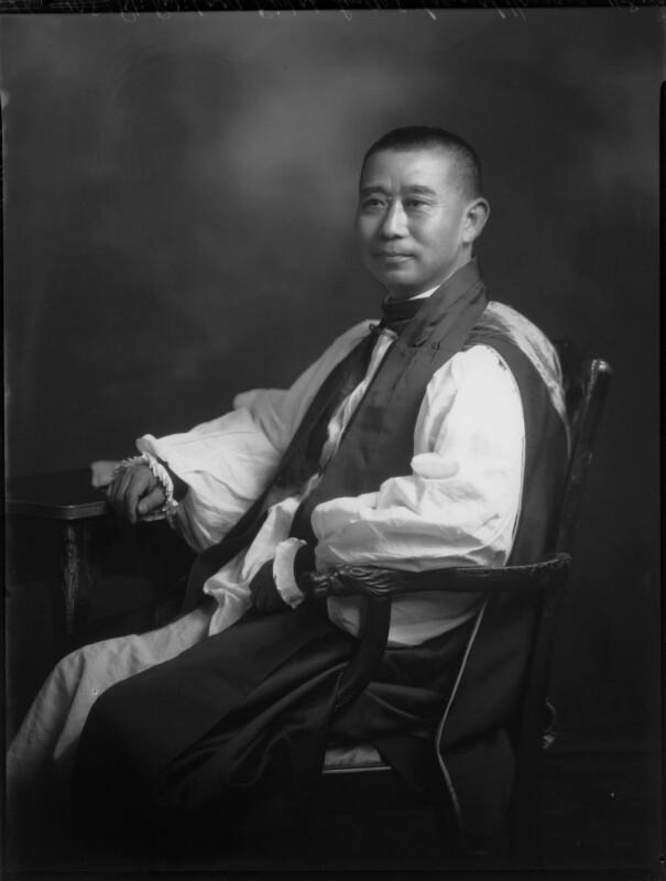 Phillip Lindel Tsen, by Lafayette, 11 August 1930 - NPG x70609 - © National Portrait Gallery, London